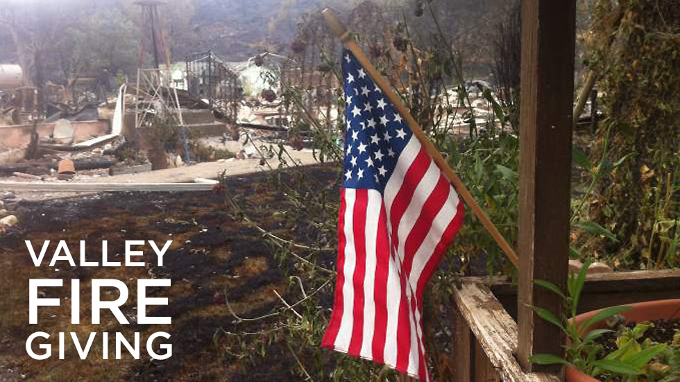 valley fire giving