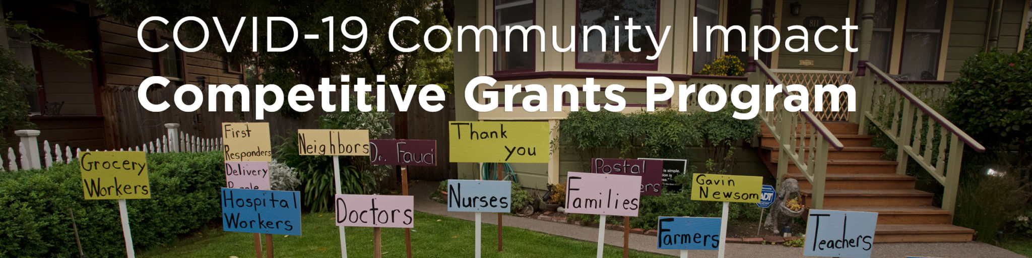 COVID-19 Community Impact Competitive Grants Program