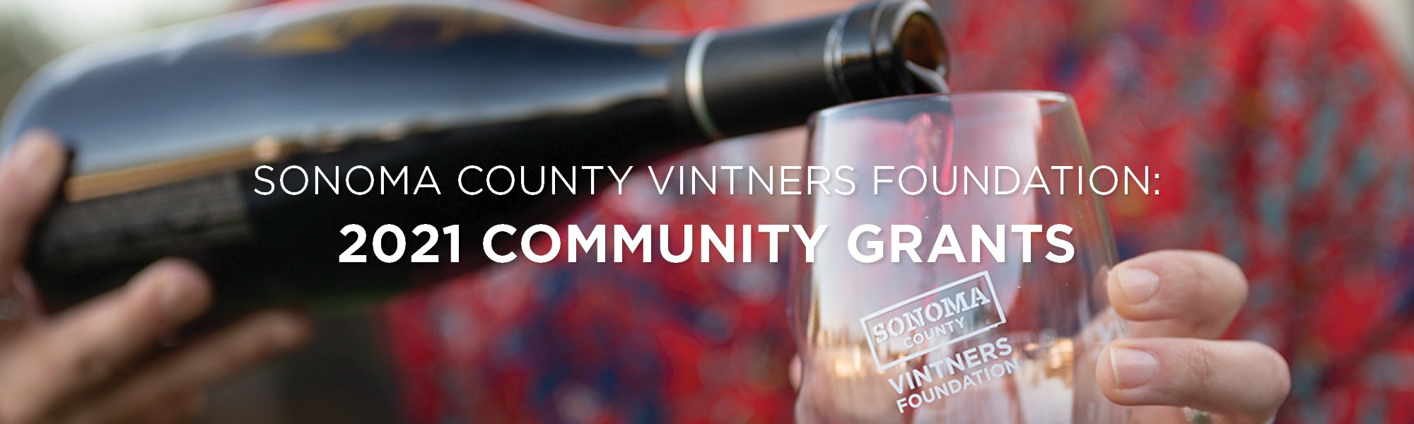 Sonoma County Vintners Foundation 2021 Community Grants