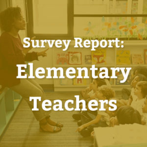 Teacher Survey: Elementary Schools