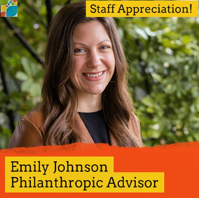 Emily Johnson and her role at CFSC as Philanthropic Advisor