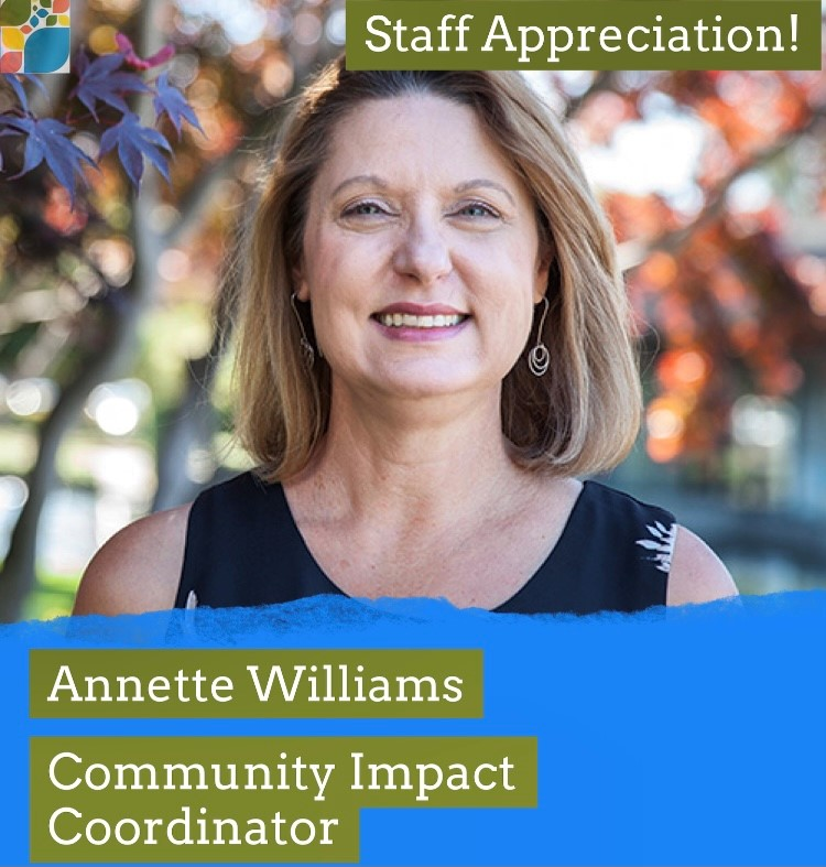 Annette Williams and her role at CFSC as Community Impact Coordinator