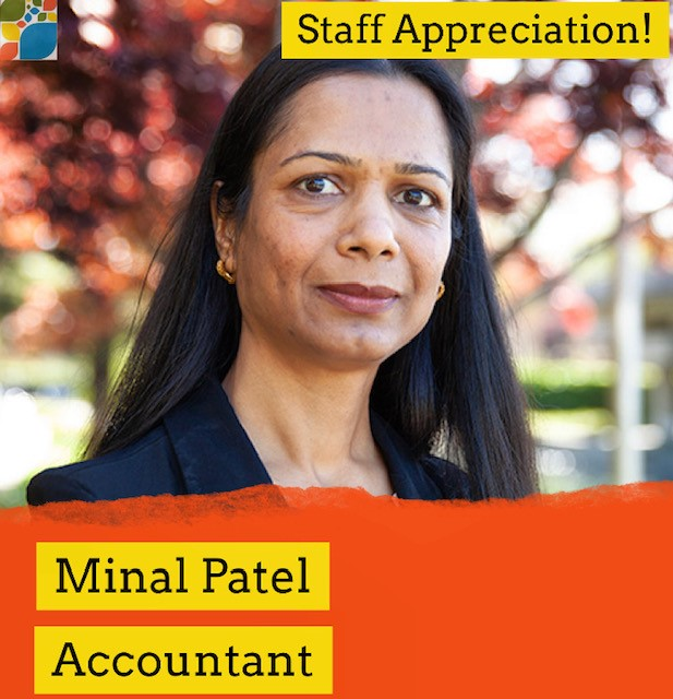 Minal Patel and her role at CFSC as an accountant