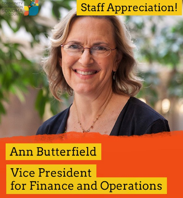 Ann Butterfield and her role at CFSC as Vice President for Finance and Operations