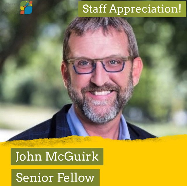 John McGuirk and his role at CFSC as Senior Fellow