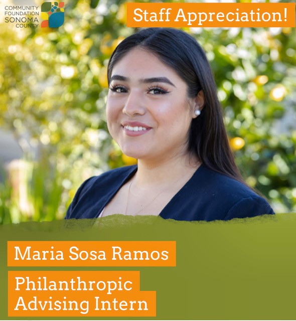 Maria Sosa Ramos and her role CFSC as Philanthropic Advising Intern