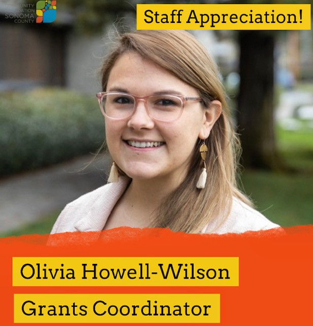Olivia Howell-Wilson and her role at CFSC as Grants Coordinator