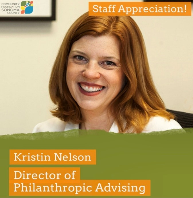 Kristin Nelson and her role at CFSC as Director of Philanthropic Advising